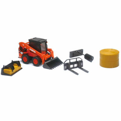 1:18 Kubota M5-111 with Hay Baler