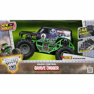 1:15 R/C Full Function Monster Jam Grave Digger