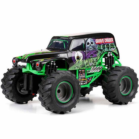 1:15 R/C Full Function Monster Jam Grave Digger