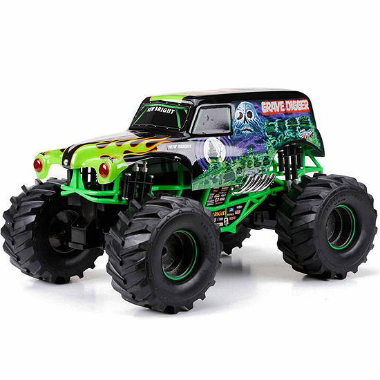 New Bright 1:10 Remote Control Monster Jam Grave Digger