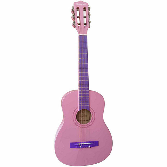 """Ready Ace 30"""" Pink Student Guitar"""""""