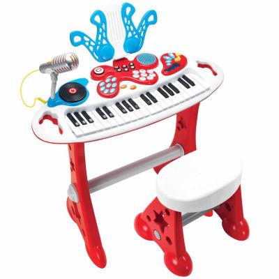 Power House Electronic Keyboard Super Star Set