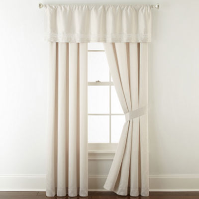 Liz Claiborne Raleigh Rod-Pocket Curtain Panel
