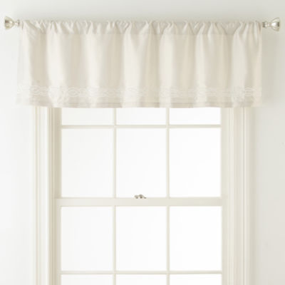 Liz Claiborne Raleigh Rod-Pocket Tailored Valance
