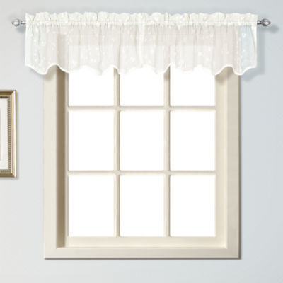 United Curtain Co Savannah Rod-Pocket Swag Valance
