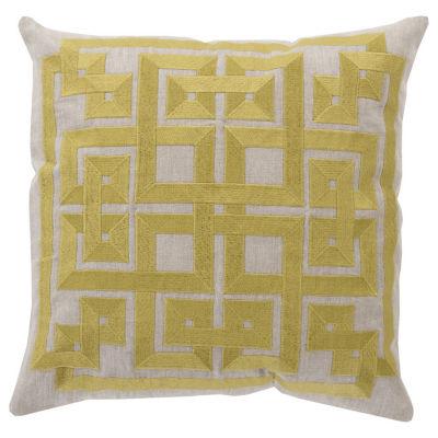Decor 140 Chieti Square Throw Pillow