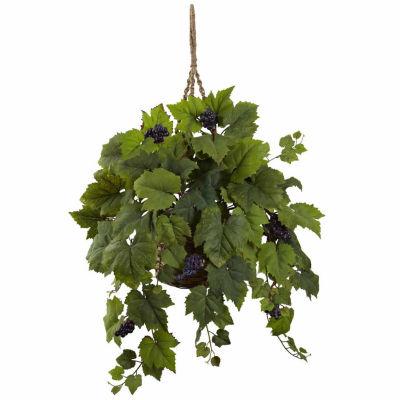 Grape Leaf Hanging Basket