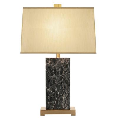 Catalina Mia Glass Table Lamp