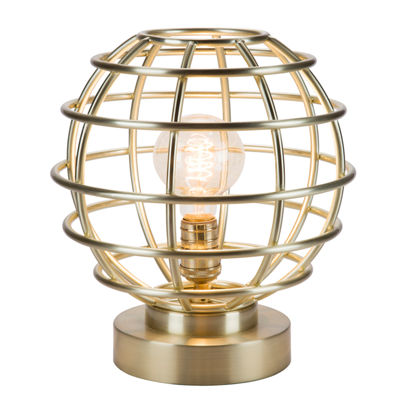 Catalina Brenner Accent Metal Table Lamp
