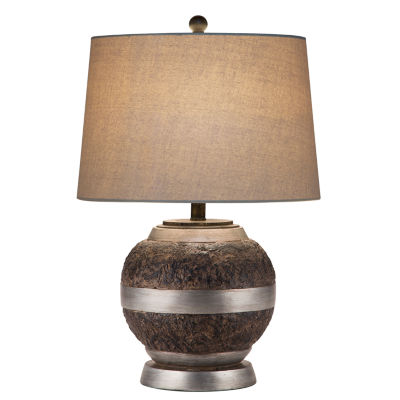 Catalina Whitney Resin Table Lamp