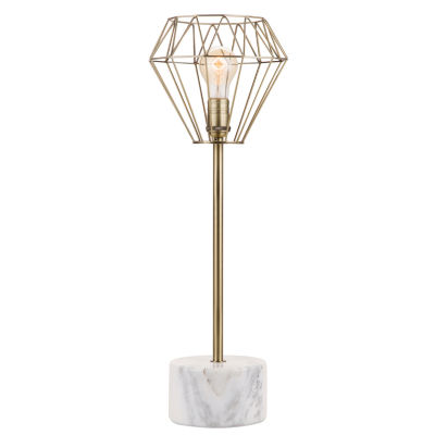 Catalina Helena Accent Wood Table Lamp