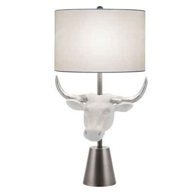 Catalina Amarillo Resin Table Lamp