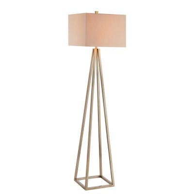 Catalina Ezra Metal Floor Lamp