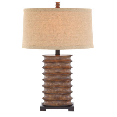 Catalina Pierce Resin Table Lamp