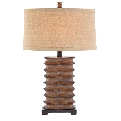Catalina Pierce Resin Table Lamp