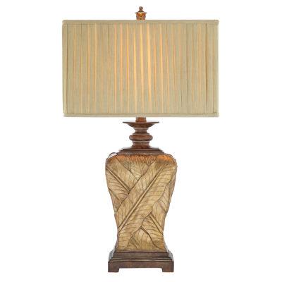 Catalina Paulina Resin Table Lamp