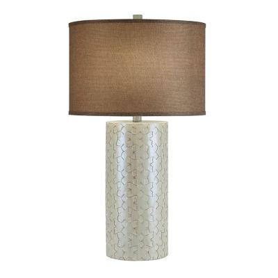 Catalina Christa Resin Table Lamp
