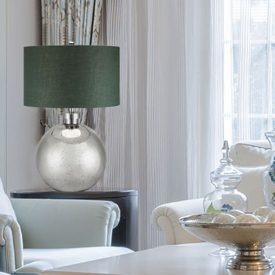 Catalina Mila Glass Table Lamp