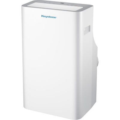 "Keystone 12000 BTU Extra-Quiet Portable Air Conditioner with ""Follow Me"" LCD Remote Control"""