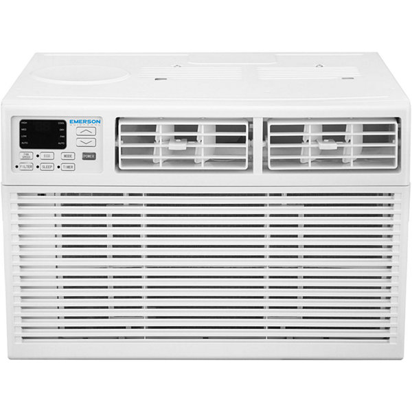 Emerson Quiet Kool 12000 BTU 115V Window Air Conditioner with Remote Control