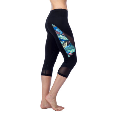 PL Movement By Pink Lotus Mid Rise Workout Capris