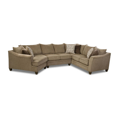 Simmons® Langley Park 3 Piece Sectional