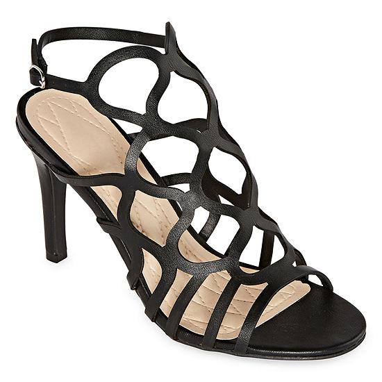Bamboo Womens Blaze 06s Heeled Sandals