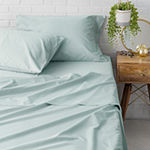 Welhome Premier Soft Finish Cotton 300tc Percale Sheet Set