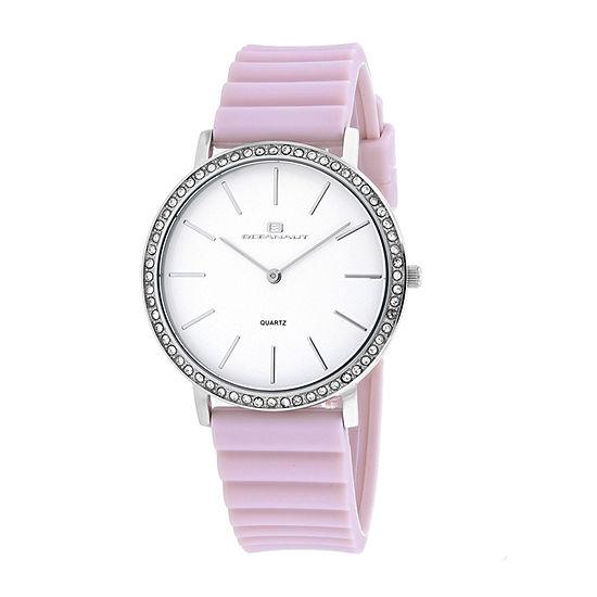 Oceanaut Womens Pink Strap Watch-Oc0263