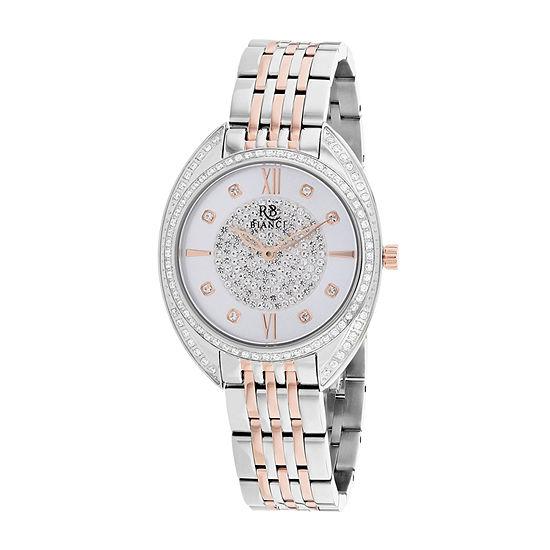 Roberto Bianci Womens Orange Stainless Steel Bracelet Watch - Rb0212
