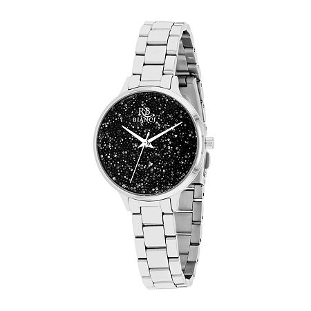 Roberto Bianci Womens Silver Tone Stainless Steel Bracelet Watch - Rb0248, One Size