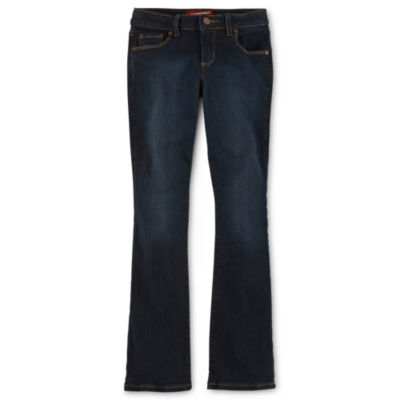 Arizona Bootcut Jeans - Girls 7-16 and Plus
