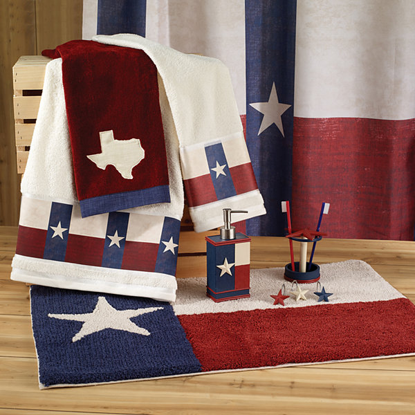 Avanti Texas Star Shower Curtain