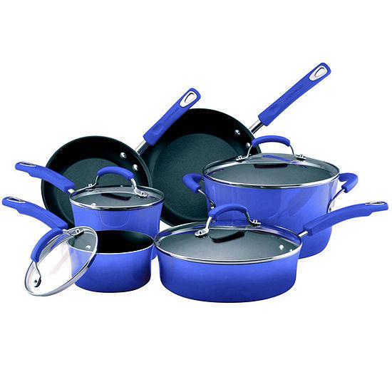 Rachael Ray® Porcelain II 10-pc. Cookware Set