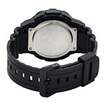 Casio Mens Black Strap Watch-Aeq100bw-9av