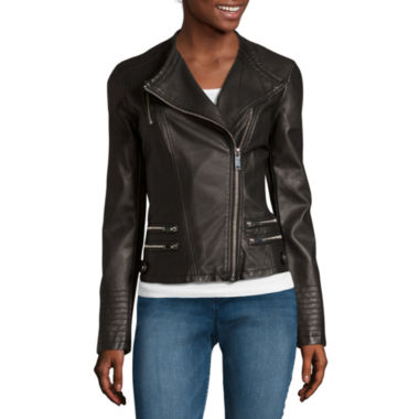 Women`s Moto Jacket, Only $19.