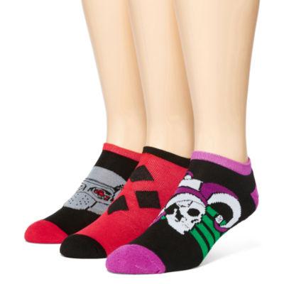 DC Comics® Suicide Squad 3-pk. Athletic Low-Cut Socks