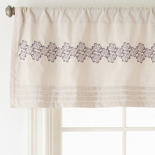 Home Expressions™ Kacey Paisley Rod-Pocket Valance