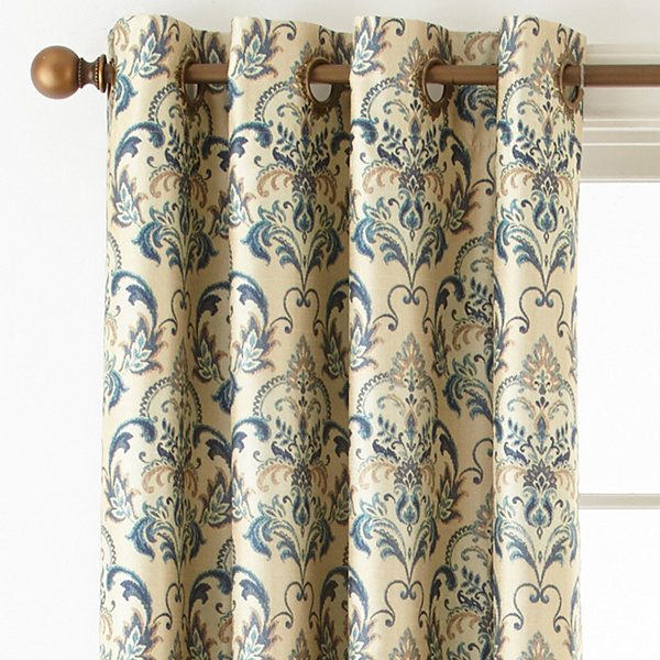 Royal Velvet® Blaine Grommet Top Blackout Curtain Panel