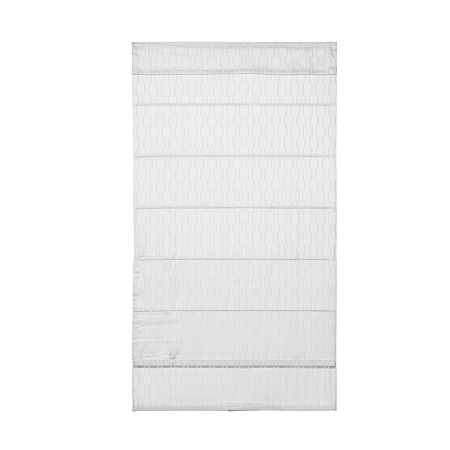 JCPenney Home Luna Cordless Blackout Roman Shade, One Size , White
