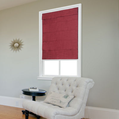 JCPenney Home™ Fauxsilk Cordless Roman Shade