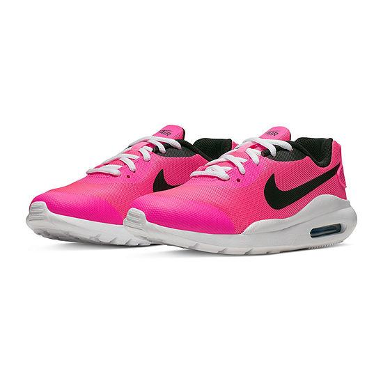 Nike Air Max Oketo Big Kids Girls Running Shoes Lace-up