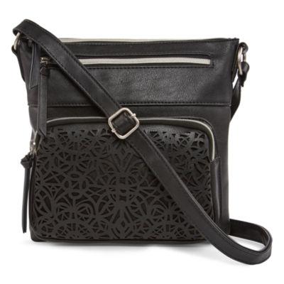 Arizona Dixie Perforated Crossbody Bag