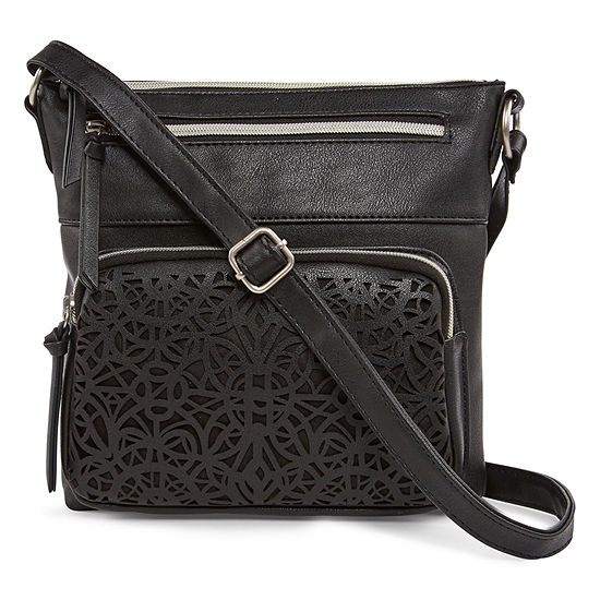 Arizona Dixie Perforated Crossbody Bag