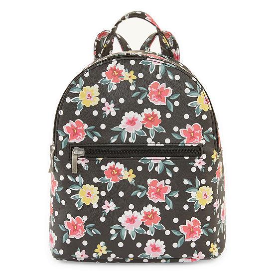 Arizona Dot Floral Mini Backpack