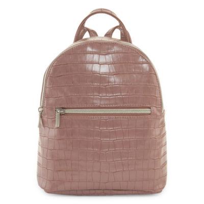 Arizona Mauve Croco Mini Backpack