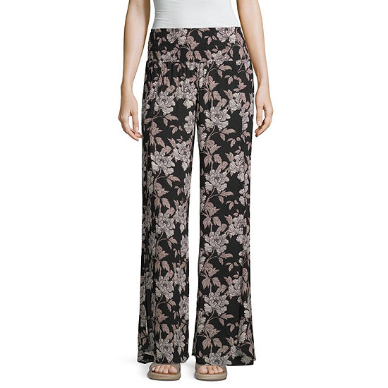 Tyte Jeans Womens Wide Leg Pull-On Pants-Juniors