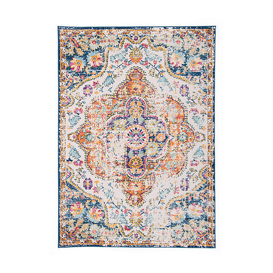 World Rug Gallery Vintage Distressed Bohemian Rectangular Indoor Rugs