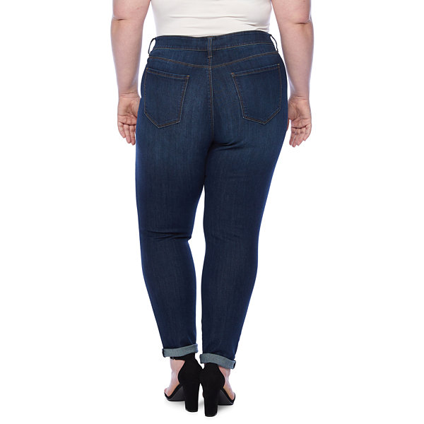 a.n.a 5 Pocket Skinny Jean - Plus