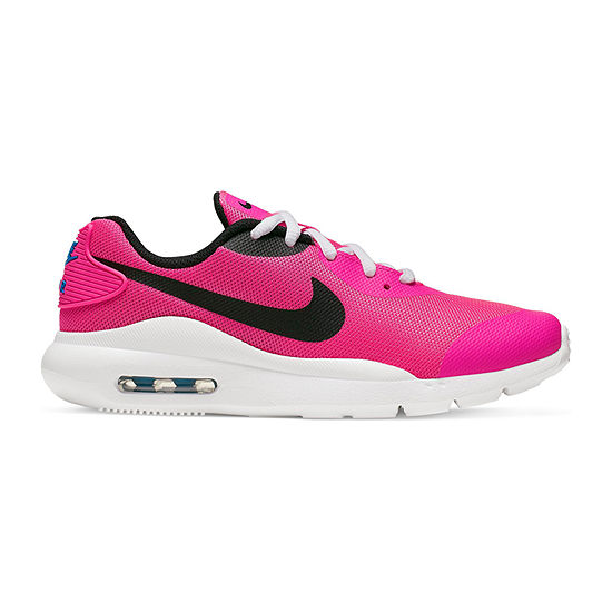 Nike Air Max Oketo Big Kids Girls Running Shoes Lace-up